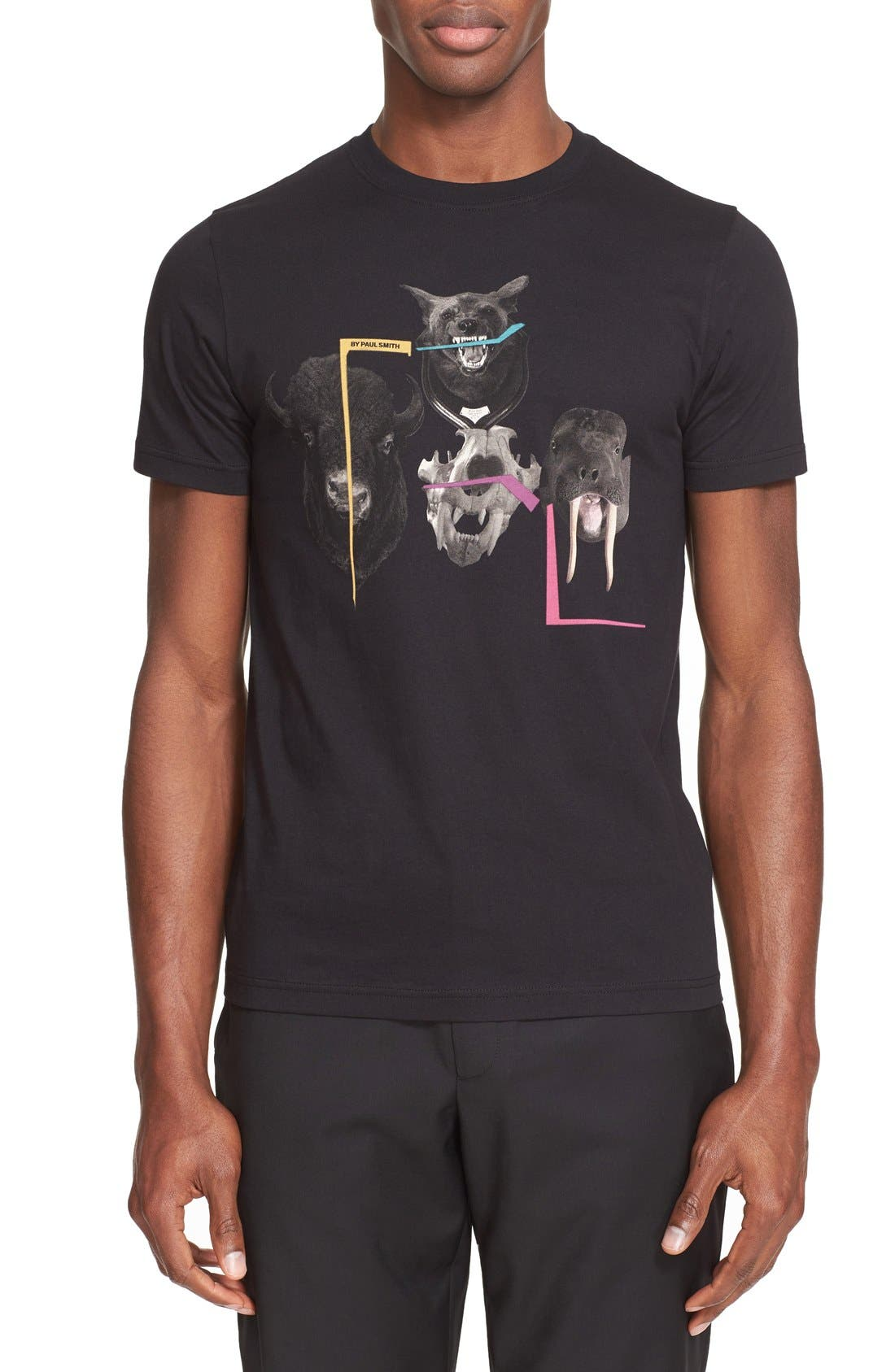 PS PAUL SMITH 'Beasts' Graphic T-Shirt