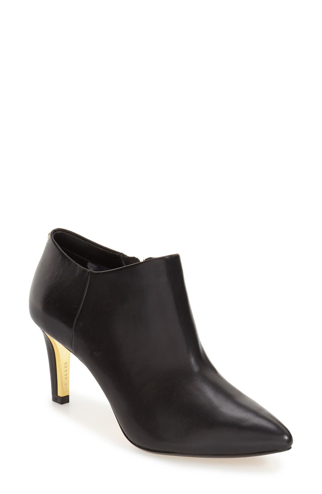 Alternate Image 1 Selected - Ted Baker London 'Nyiri' Pointy Toe Bootie (Women)