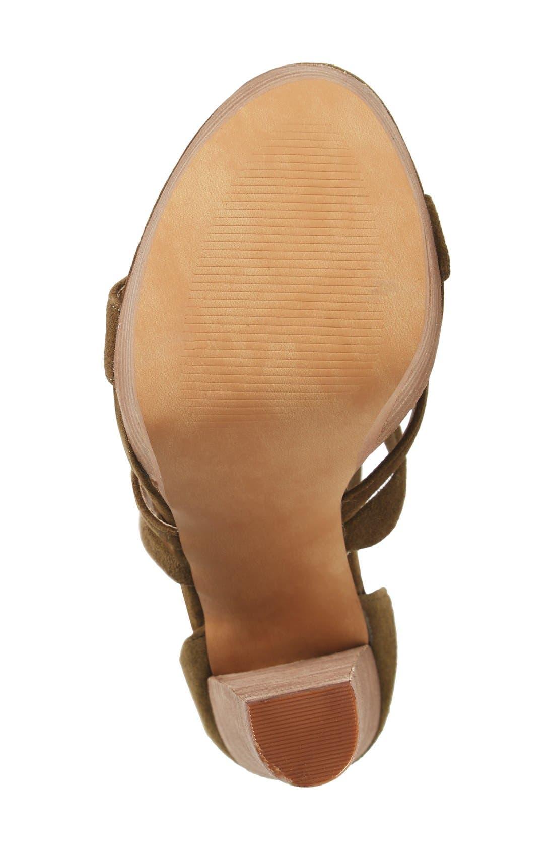 Alternate Image 4  - Steve Madden 'Laceit' Platform Sandal (Women)