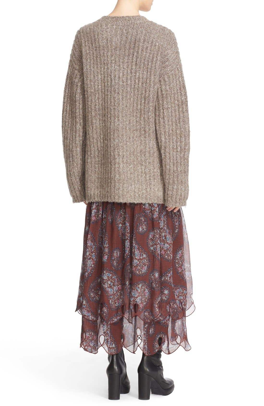Alternate Image 2  - See by Chloé Ribbed Sweater