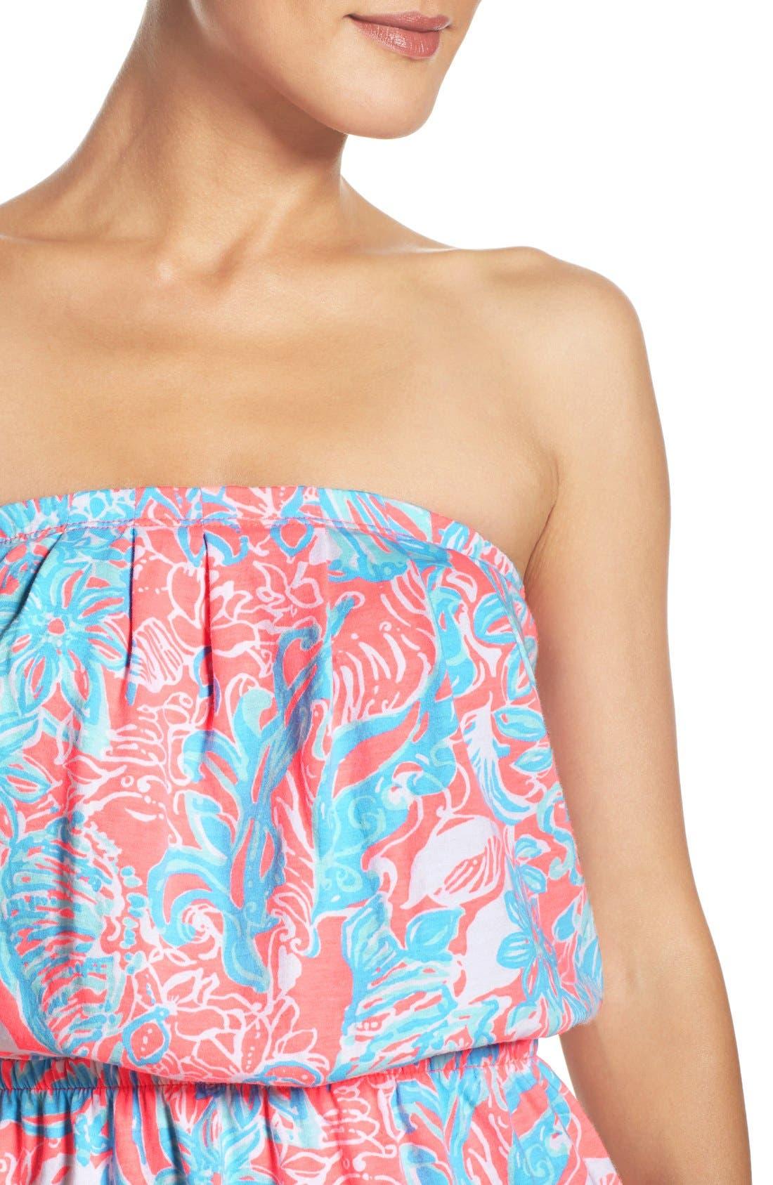 Alternate Image 5  - Lilly Pulitzer® 'Windsor' Pima Cotton Blouson Dress