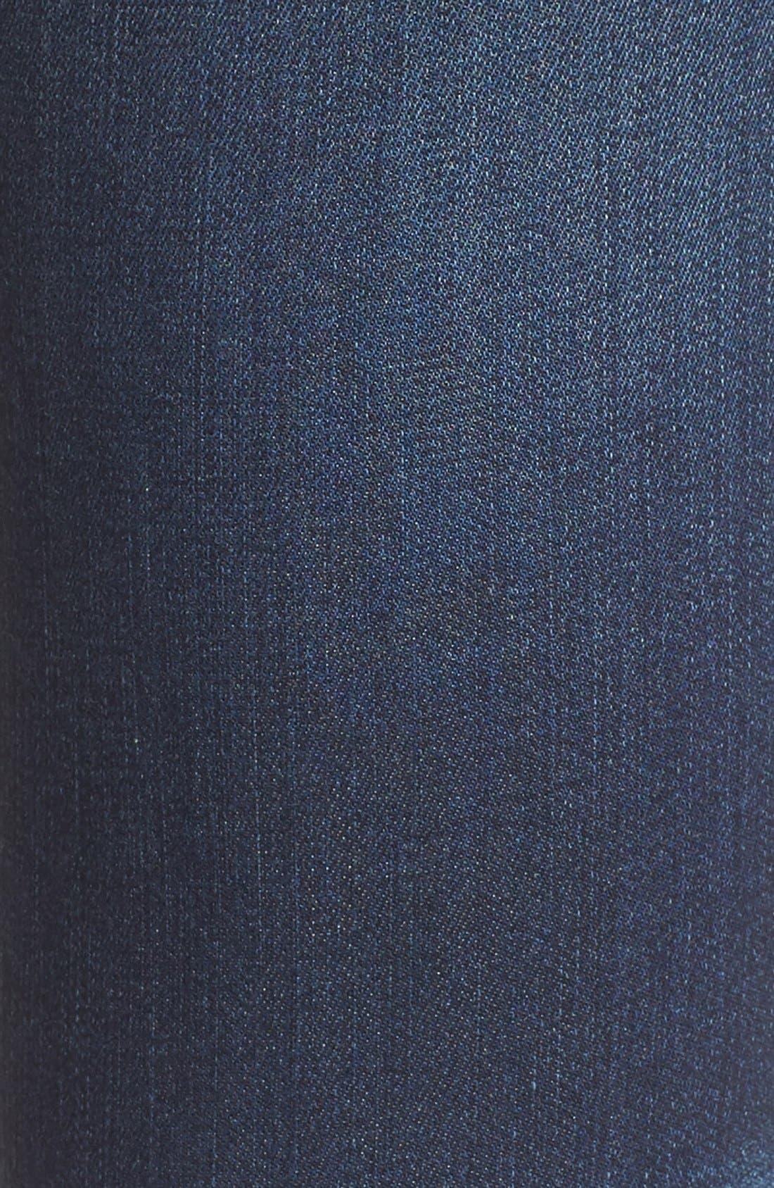 Alternate Image 5  - BLANKNYC Distressed Skinny Jeans (Junk Drawers)