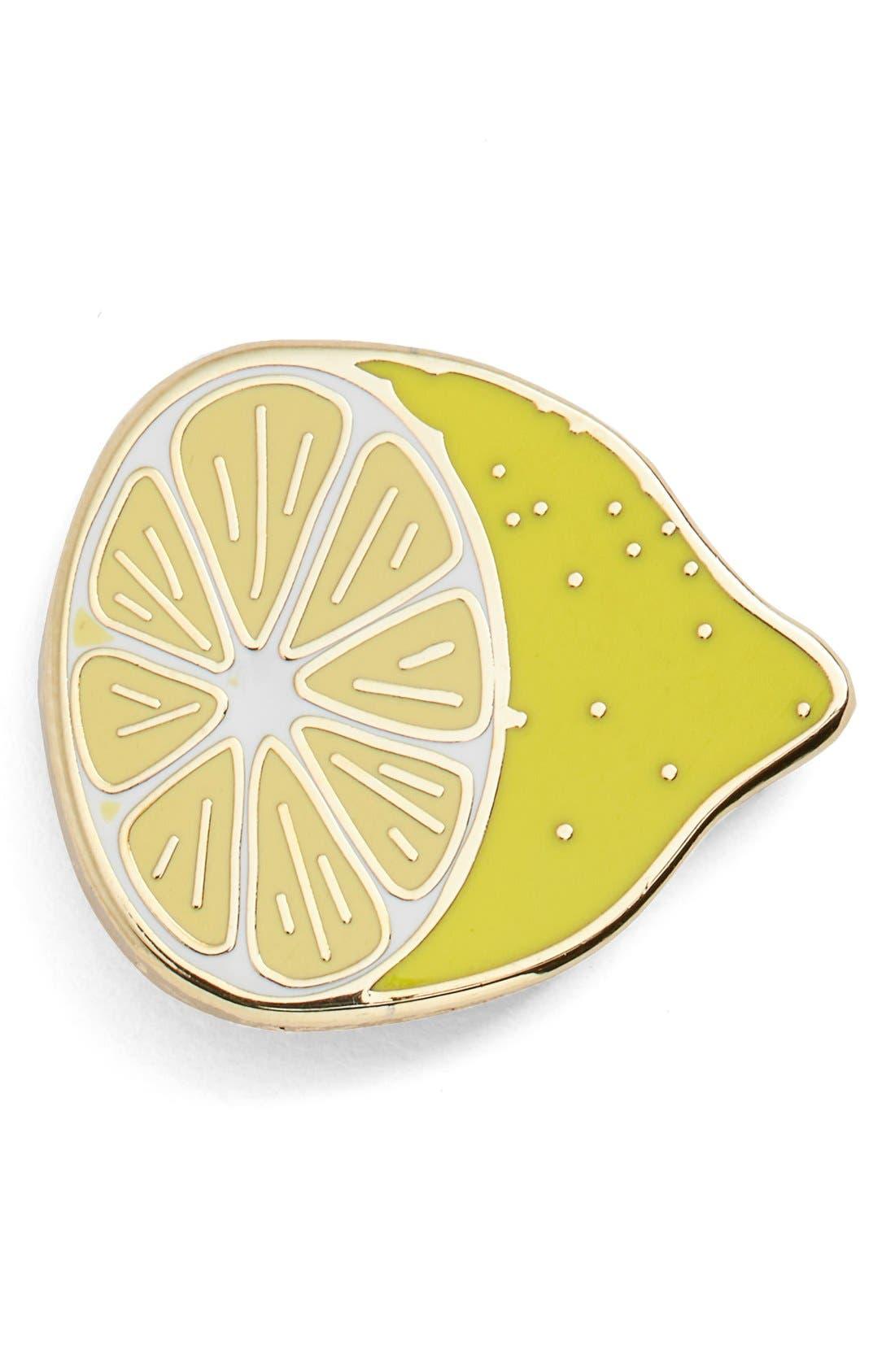 Alternate Image 1 Selected - Big Bud Press 'Small Lemon' Pin