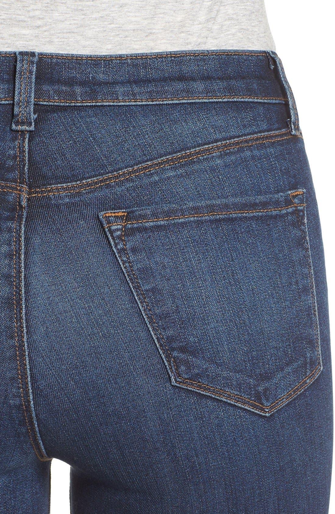Alternate Image 4  - J Brand Maria High Waist Skinny Jeans (Fleeting)