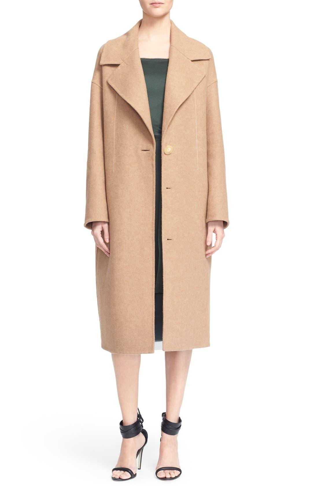 Alternate Image 1 Selected - GREY Jason Wu Double Face Wool Coat