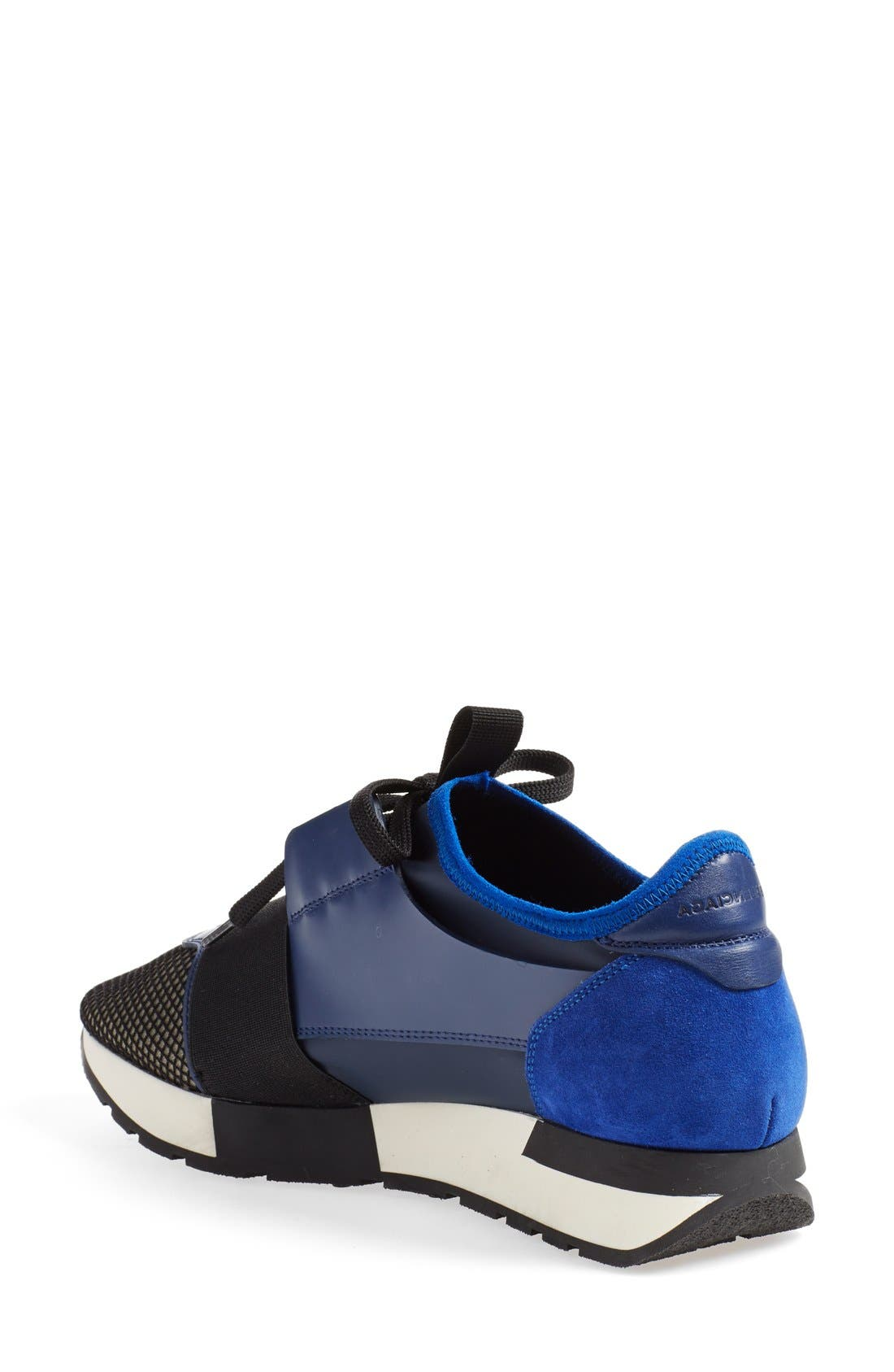 Alternate Image 2  - Balenciaga Mixed Media Sneaker (Women)