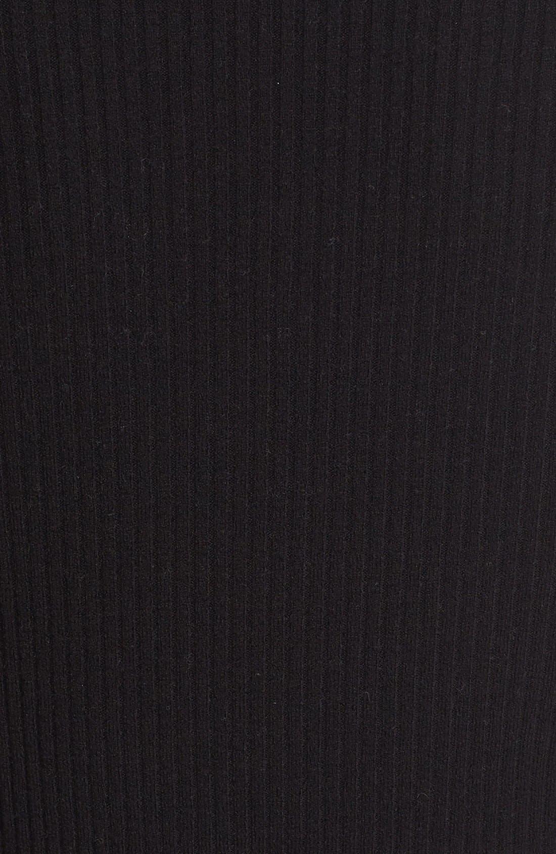 Alternate Image 5  - autumn cashmere Ribbed Cutout Sleeve V-Neck Top