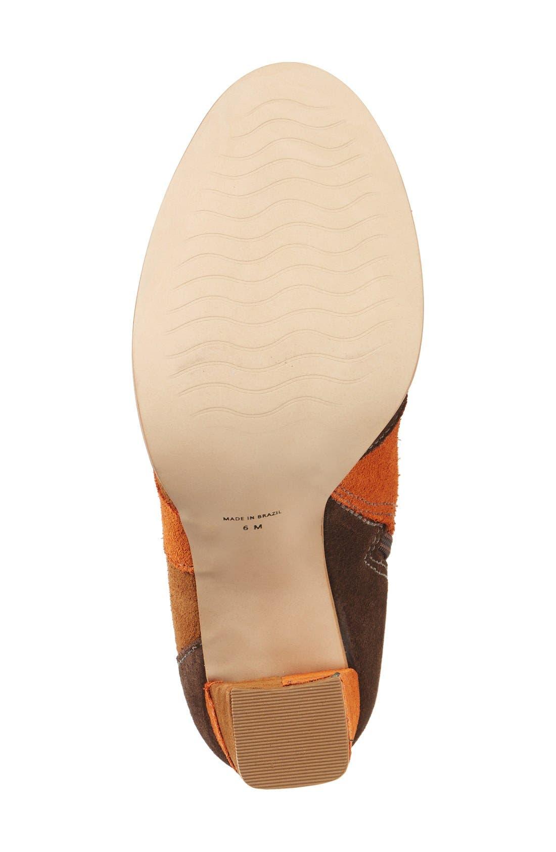 Alternate Image 4  - Matisse Jigsaw Block Heel Bootie (Women)
