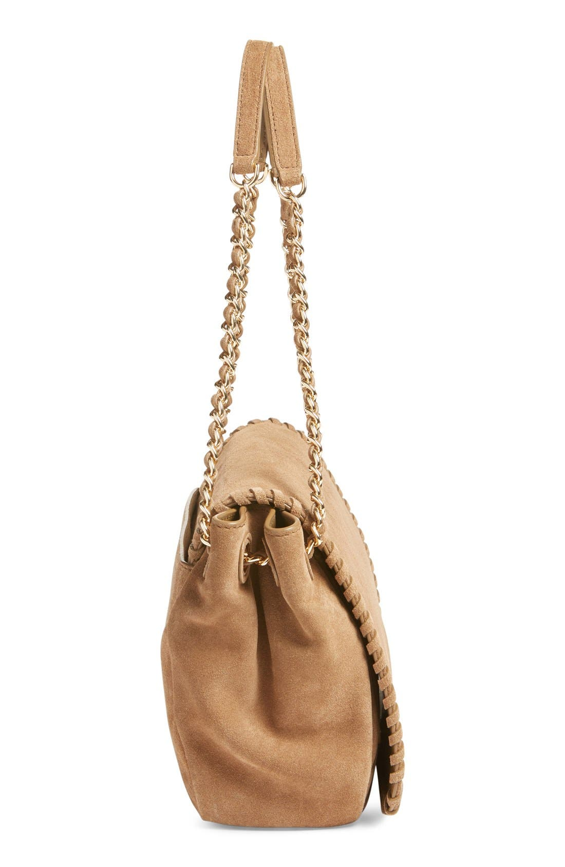Alternate Image 3  - Tory Burch 'Small Marion' Suede Shoulder Bag