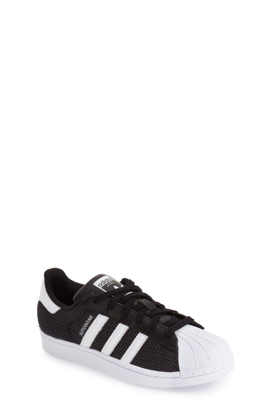 Alternate Image 1 Selected - adidas 'Superstar' Sneaker (Big Kid)