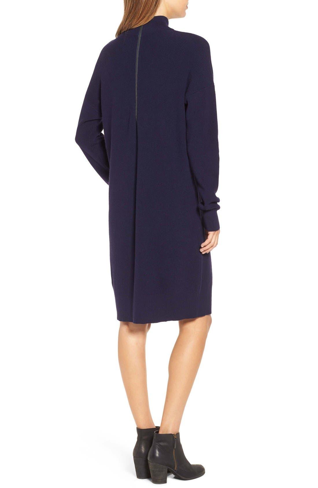 Alternate Image 2  - BP. Mock Neck Knit Sweater Dress