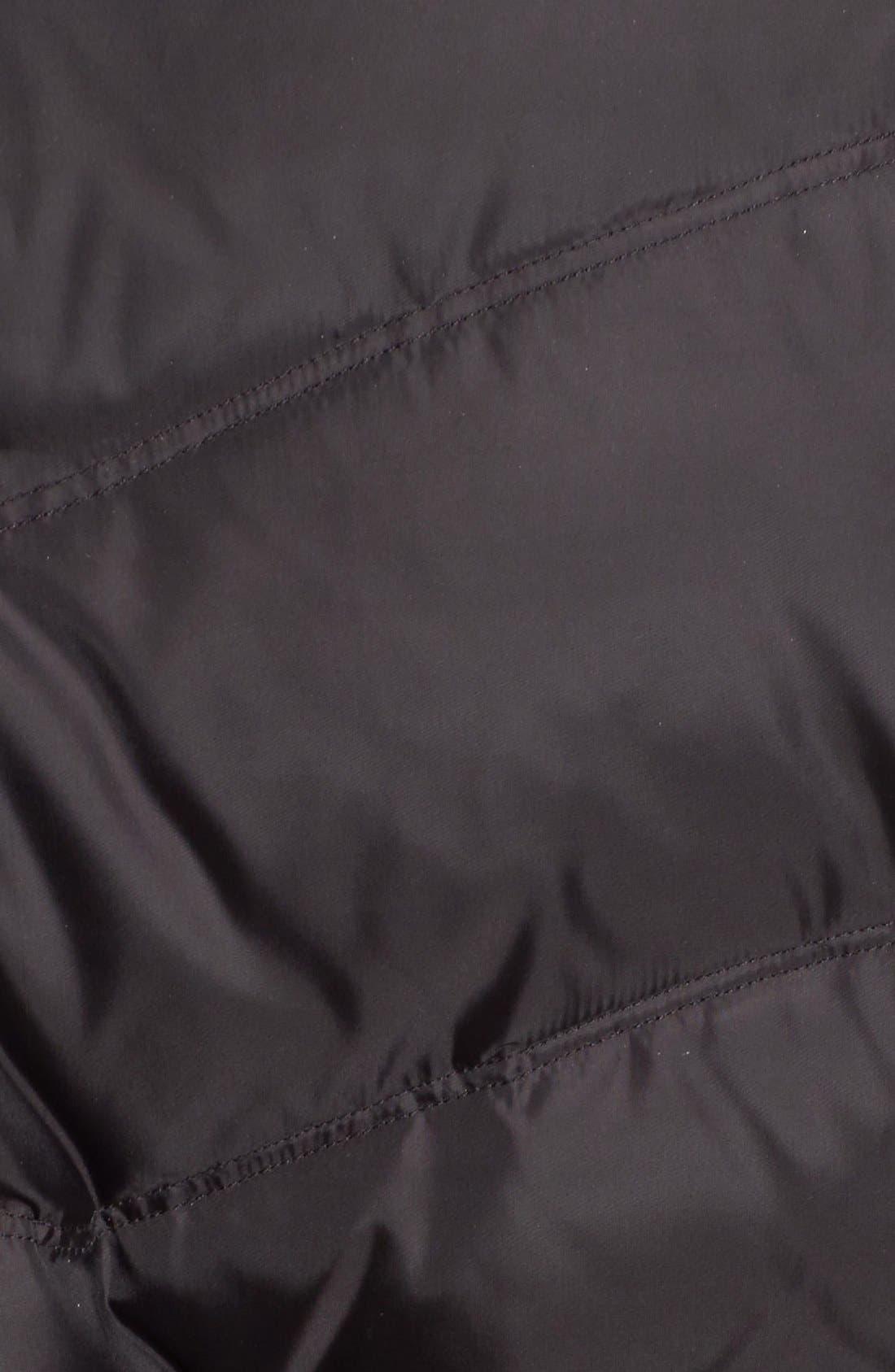 Alternate Image 5  - Via Spiga Snap Detail Pillow Collar Puffer Coat