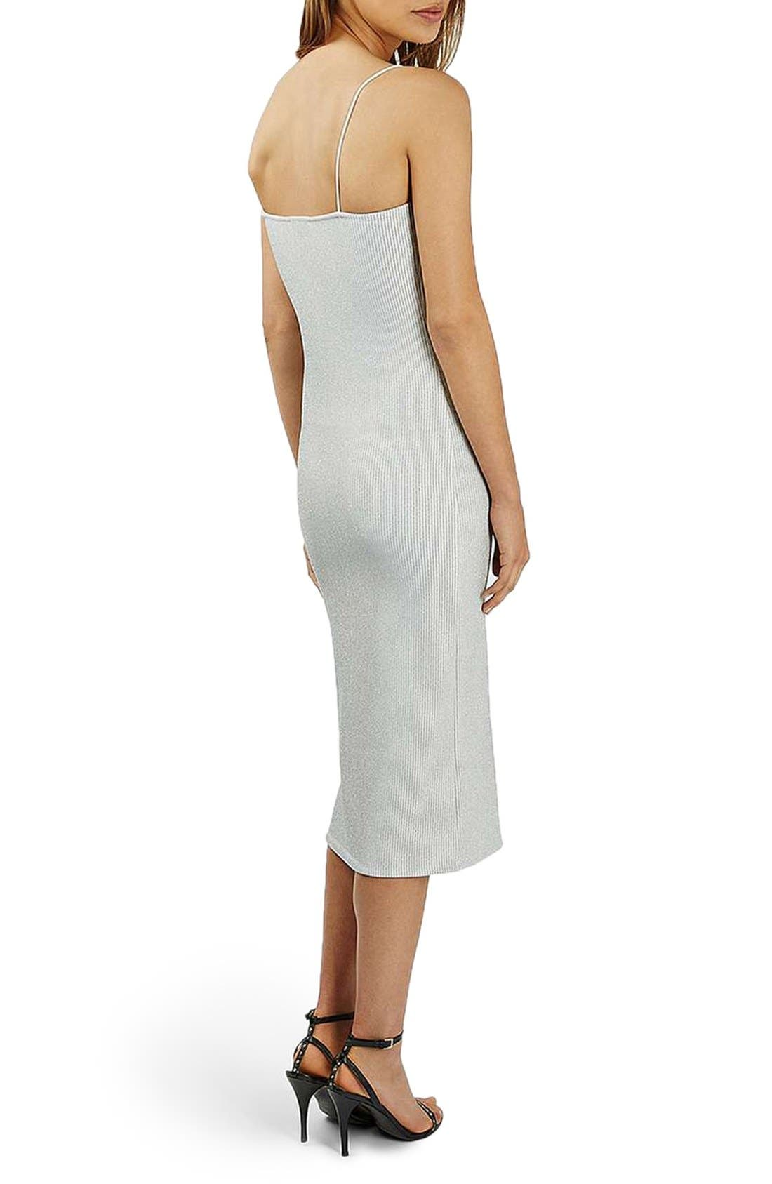 Alternate Image 3  - Topshop Scoop Neck Midi Dress