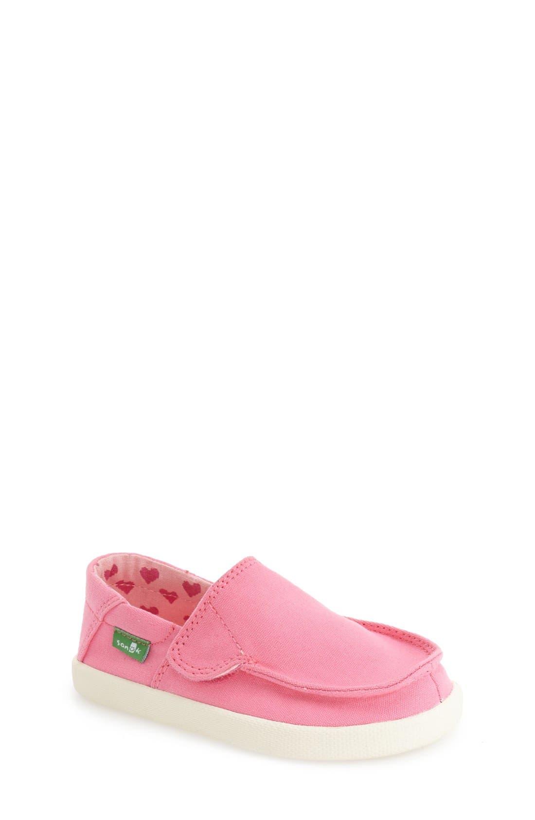 Sanuk 'Sideskip' Slip-On Sneaker (Toddler, Little Kid & Big Kid)