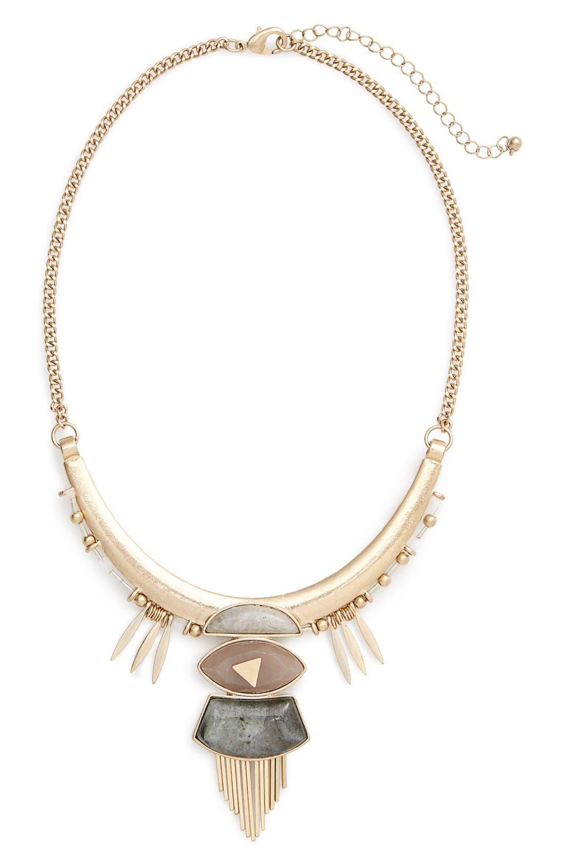 Main Image - Danielle Nicole 'Great Warrior' Collar Necklace