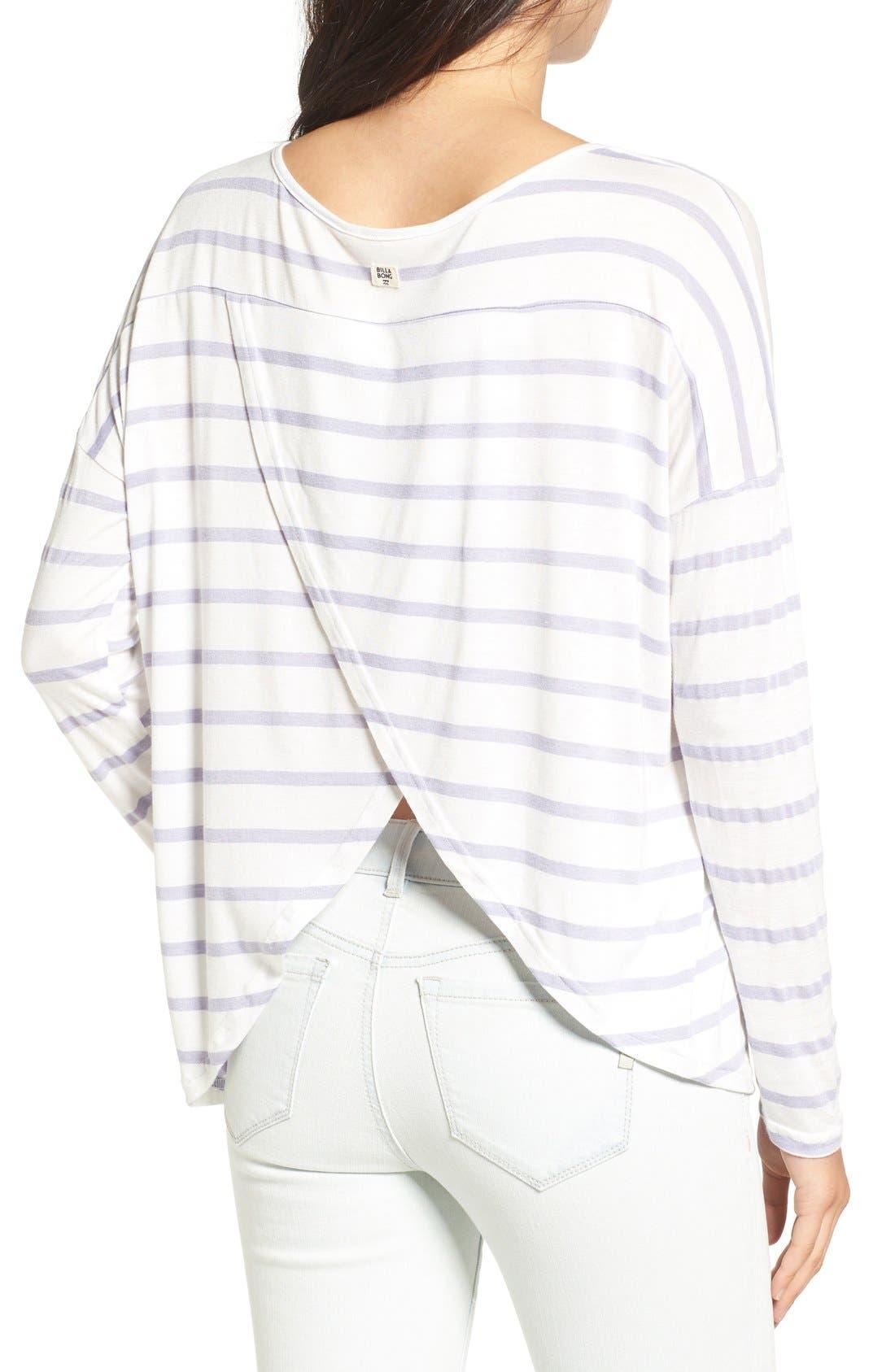 Alternate Image 2  - Billabong 'Change the World' Stripe Long Sleeve Tee