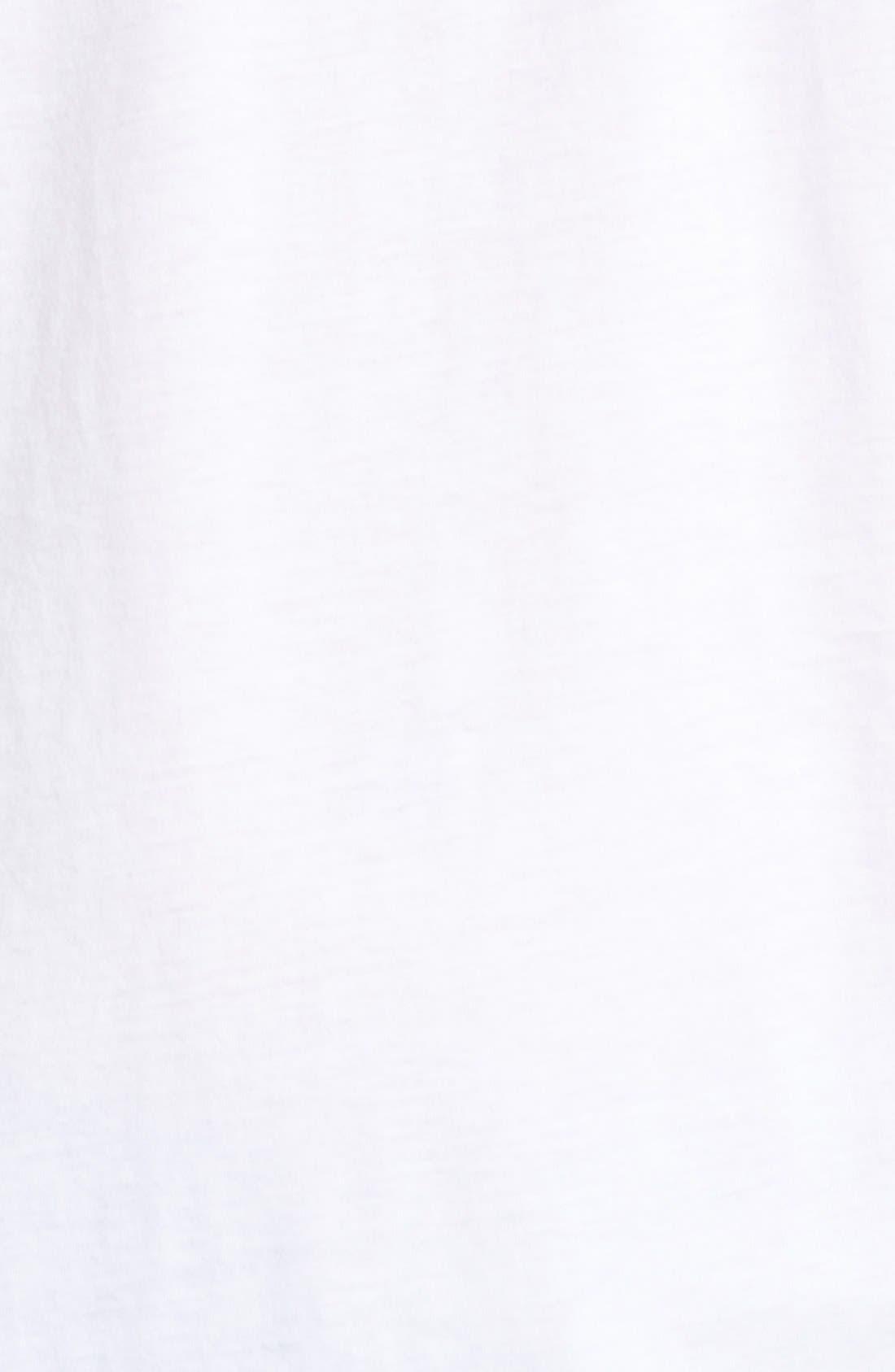 Alternate Image 5  - Cutter & Buck 'Sida' V-Neck T-Shirt (Big & Tall)