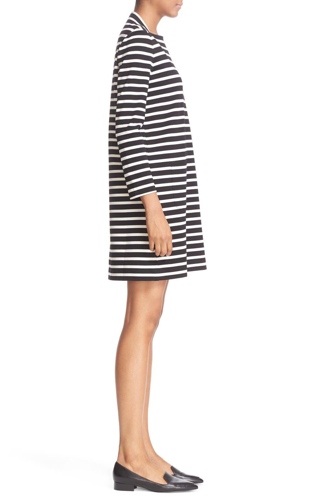 Alternate Image 3  - kate spade new york 'everyday' stripe patch pocket shift dress
