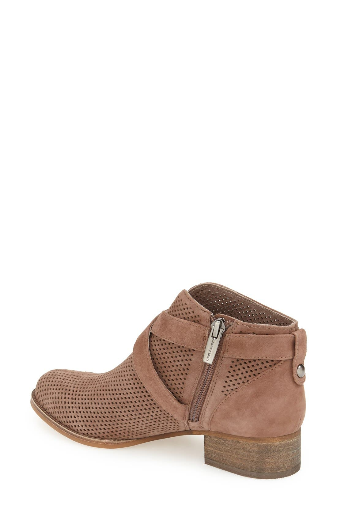 Alternate Image 2  - Vince Camuto 'Casha' Perforated Bootie (Women)
