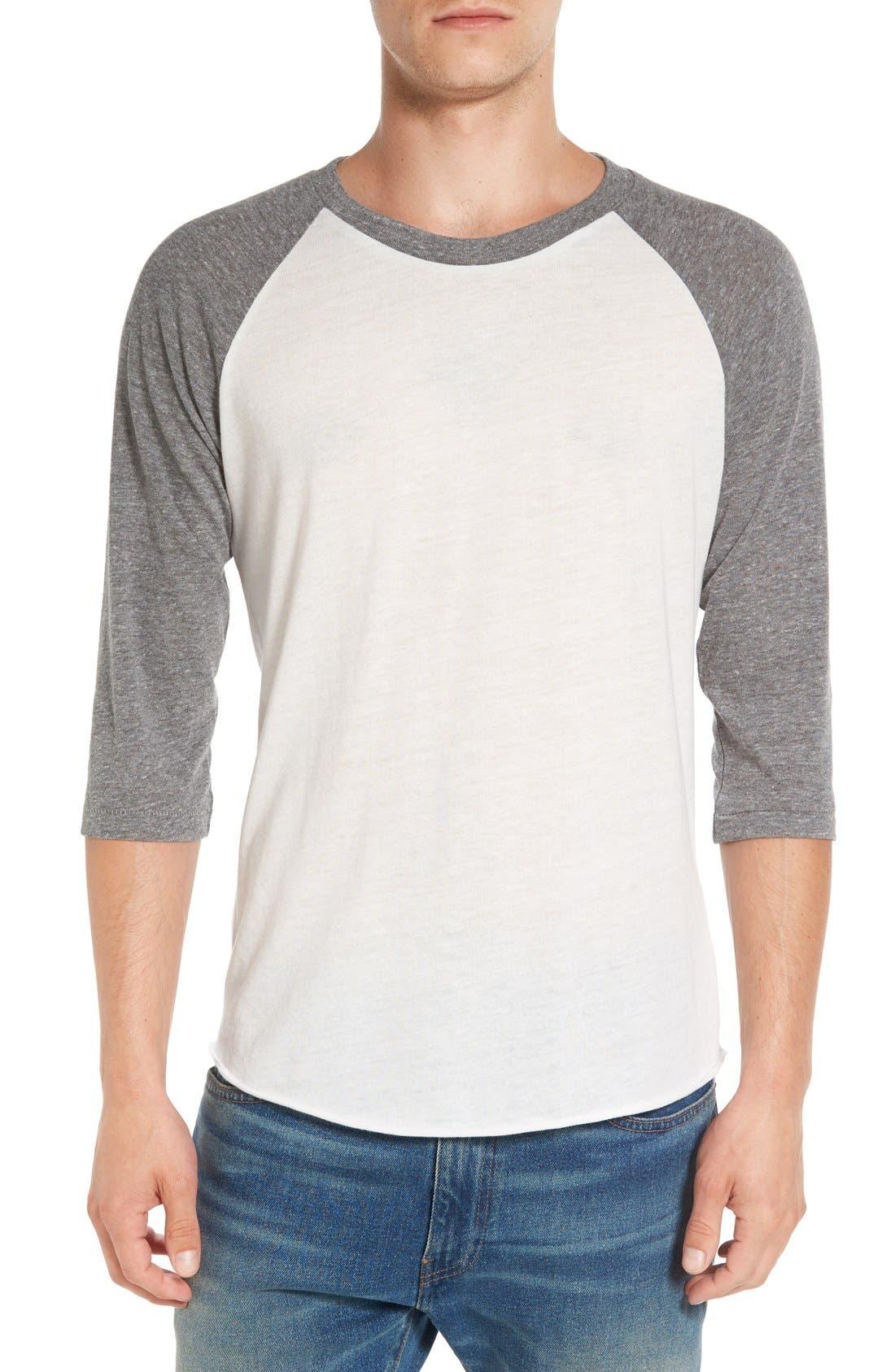 Alternate Image 1 Selected - Alternative Colorblock Baseball T-Shirt