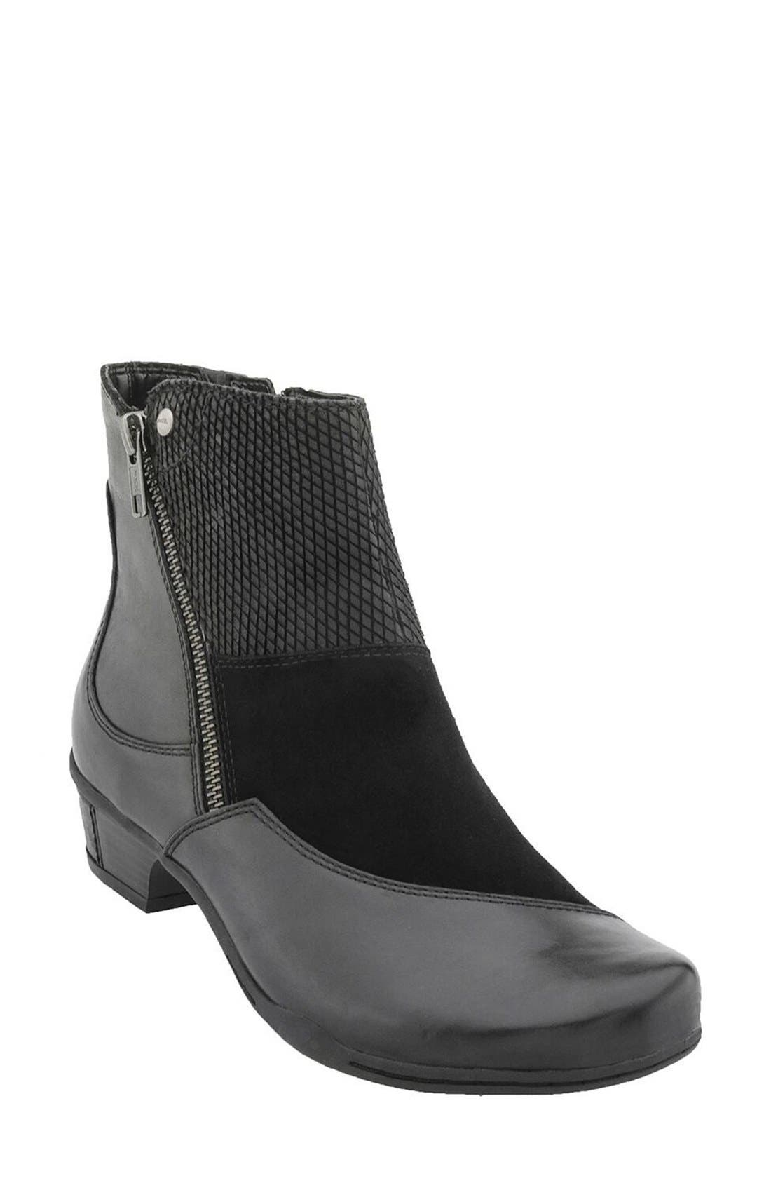Earth® 'Orion' Patchwork Bootie (Women)