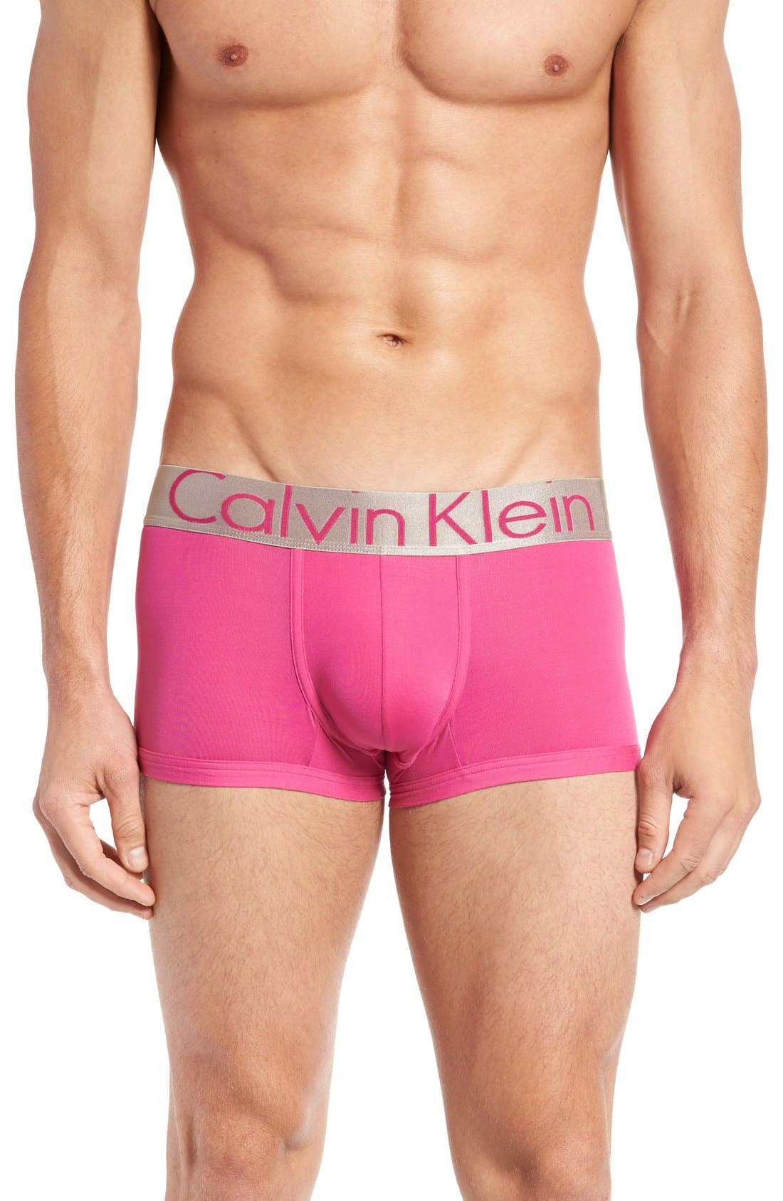 CALVIN KLEIN Steel U2716 Microfiber Low Rise Trunks