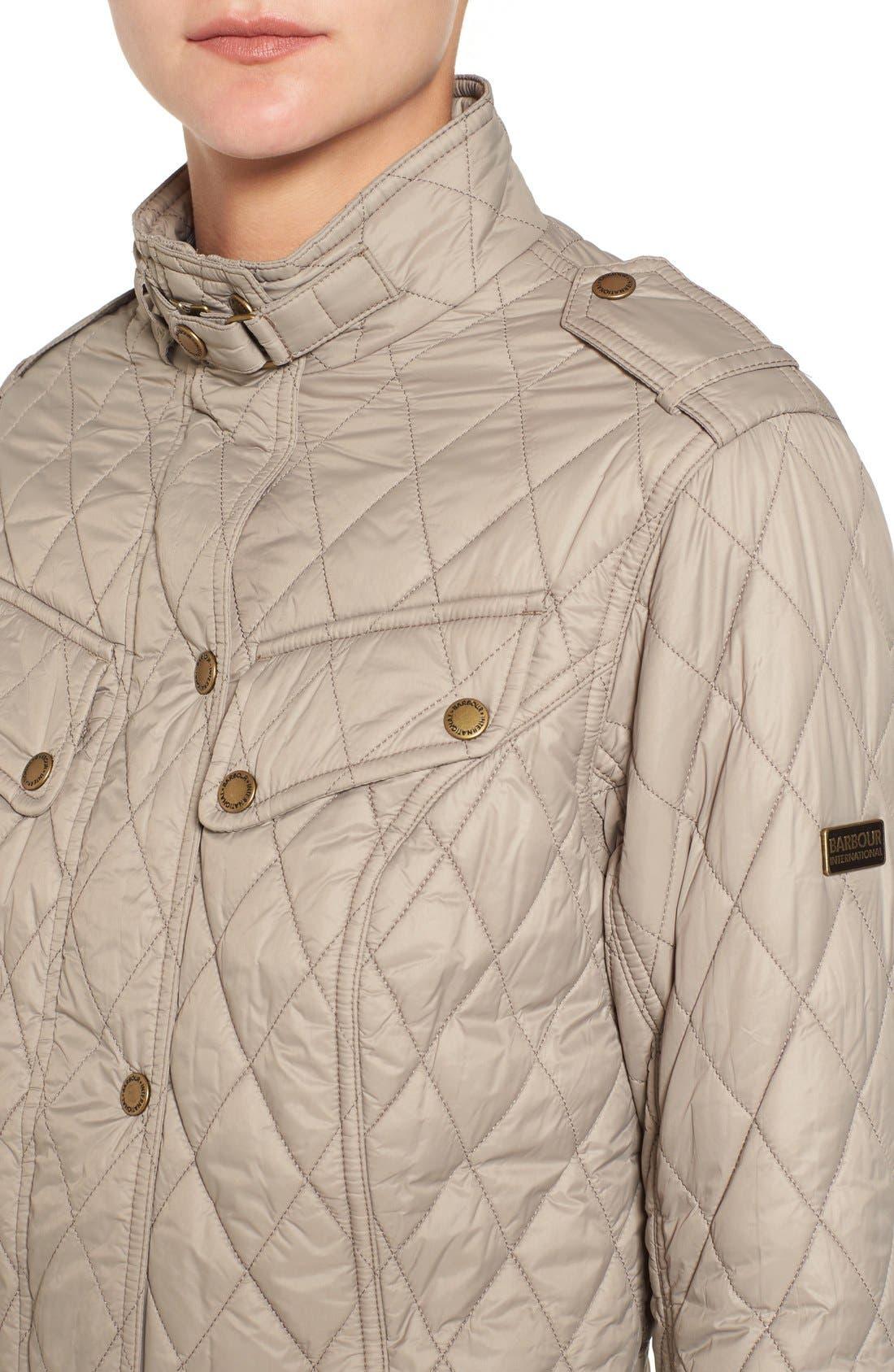 Alternate Image 4  - Barbour International Caster Quilted Jacket