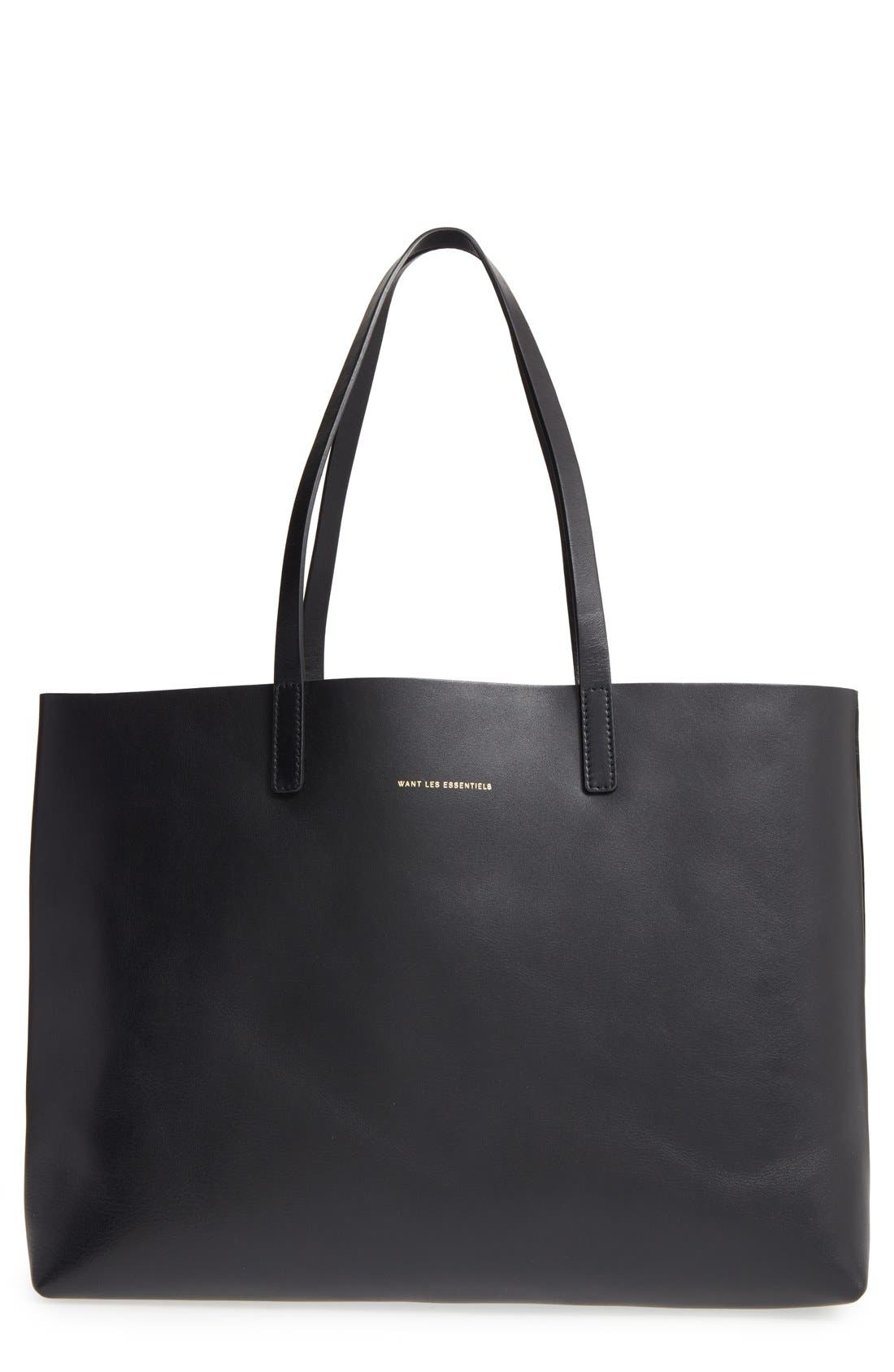 Alternate Image 1 Selected - WANT LES ESSENTIELS 'Strauss' Reversible Leather Tote
