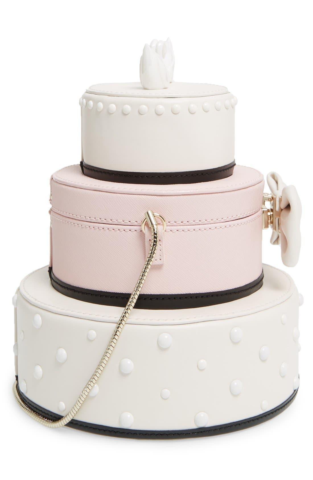 Alternate Image 5  - kate spade new york 'wedding belles - cake' leather handbag