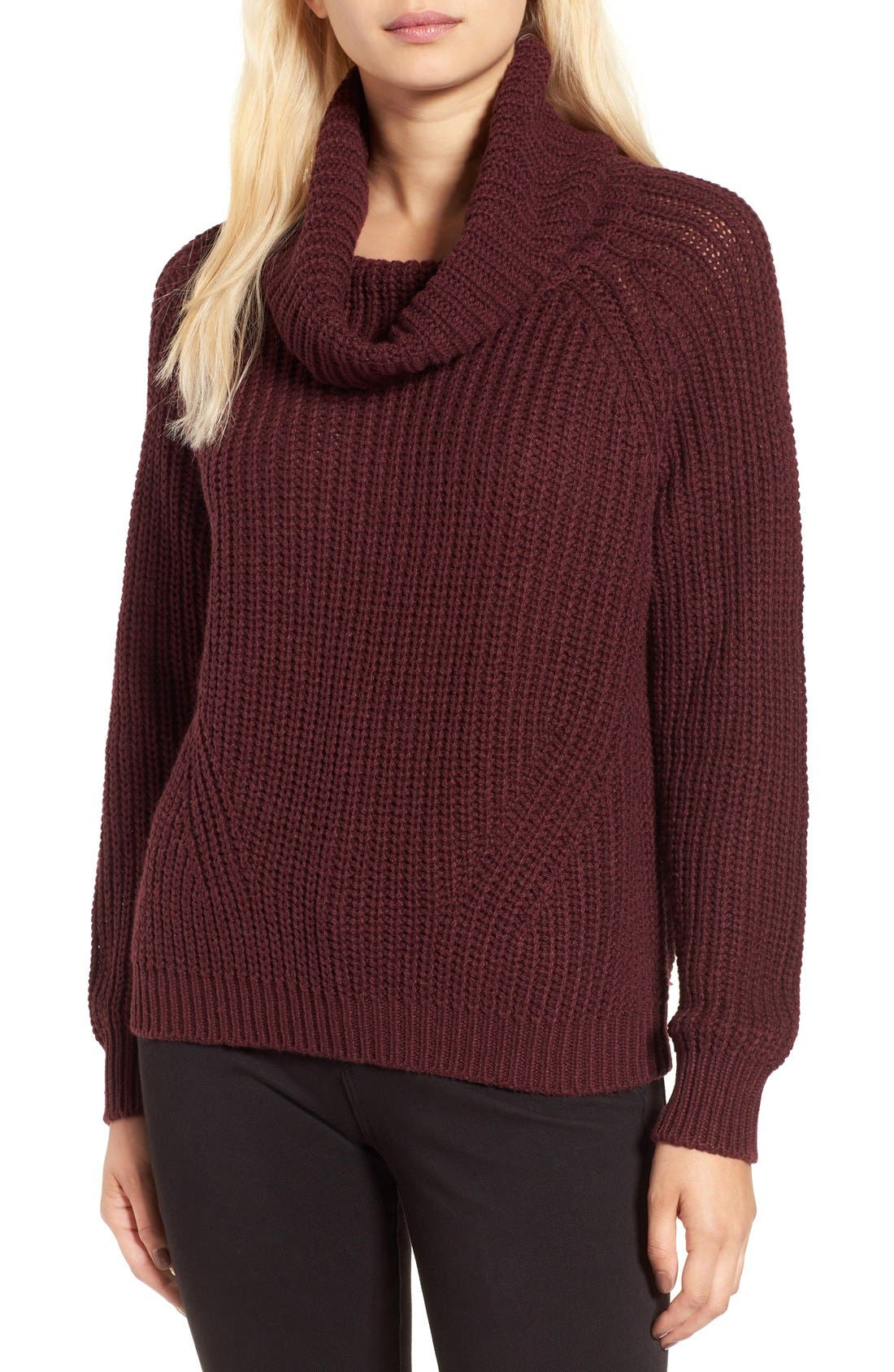 Main Image - BP. Cowl Neck Pullover Sweater
