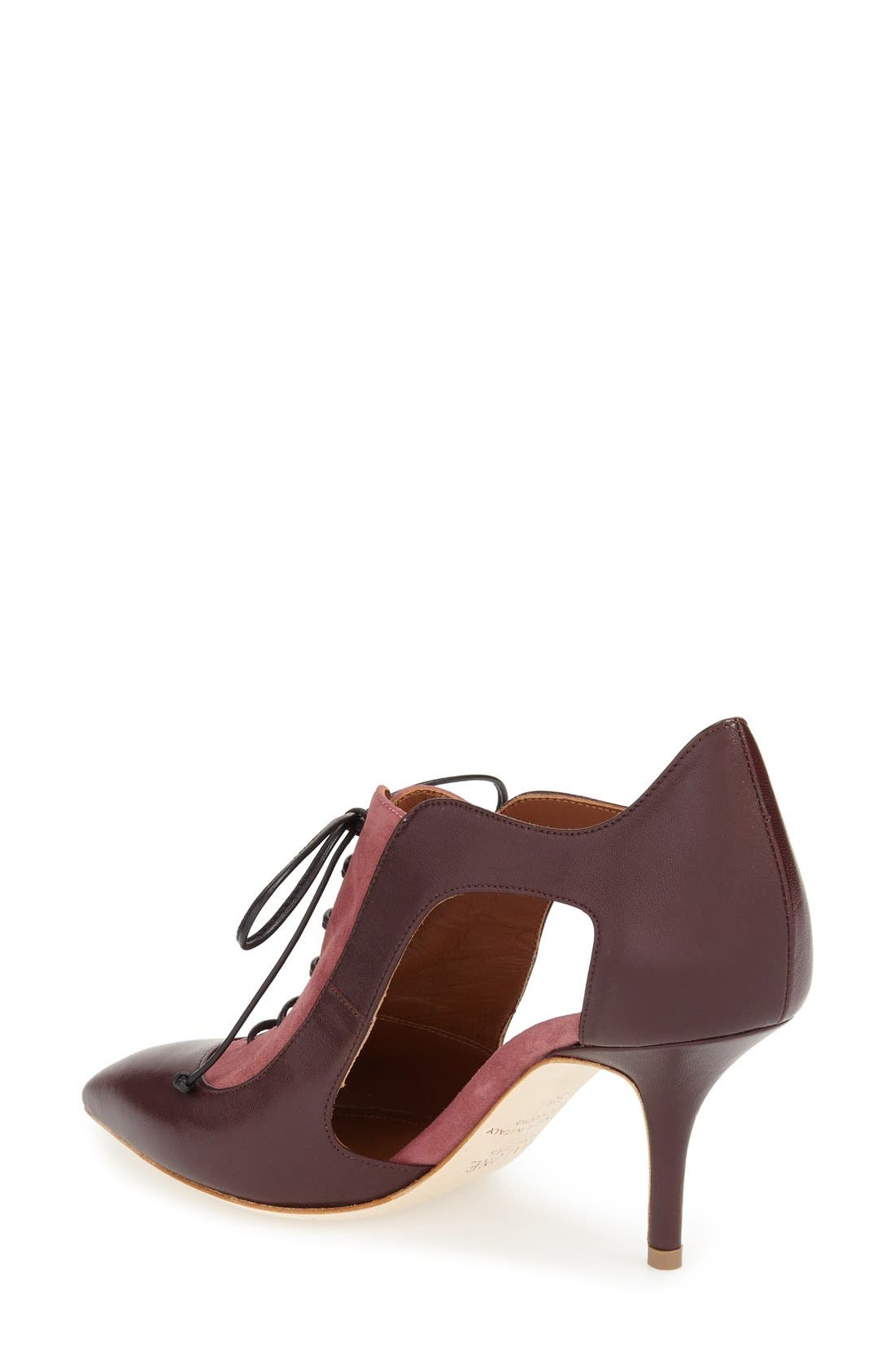 Alternate Image 3  - Malone Souliers 'Lorraine' Lace-Up Pump (Women)