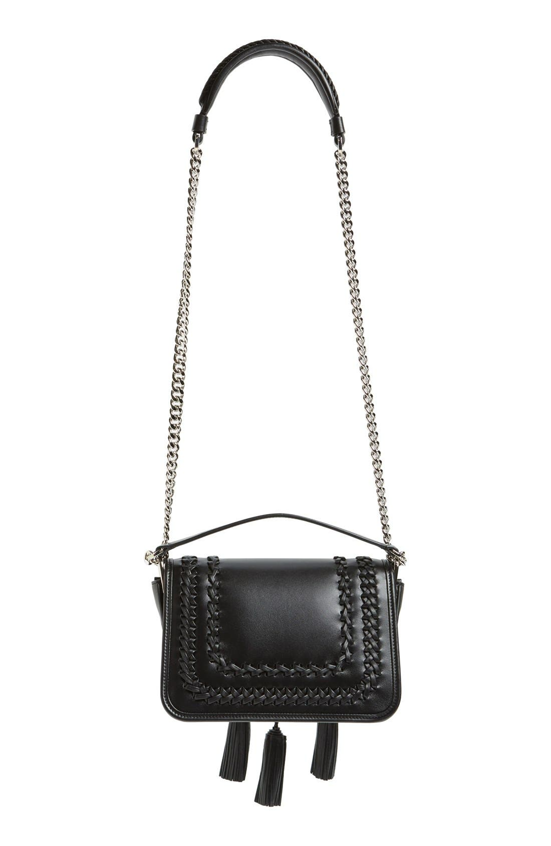 Alternate Image 4  - Tod's 'Mini Double T' Leather Shoulder Bag