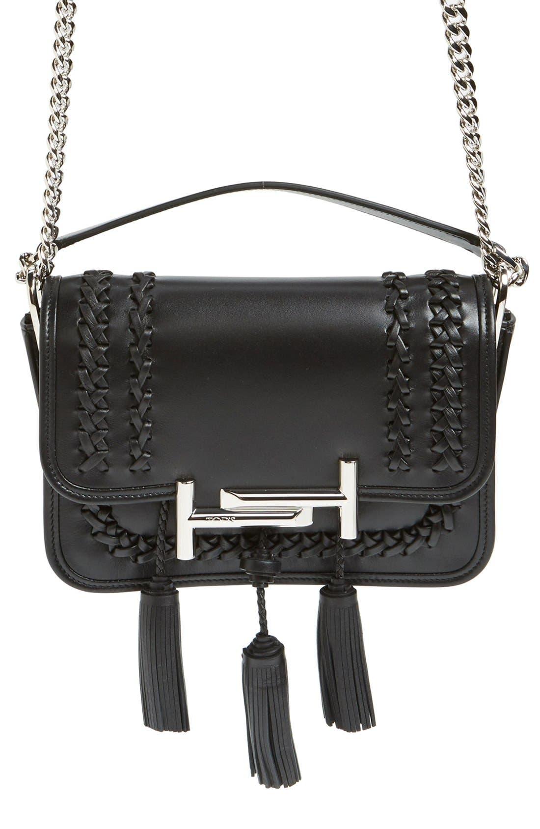 Alternate Image 2  - Tod's 'Mini Double T' Leather Shoulder Bag