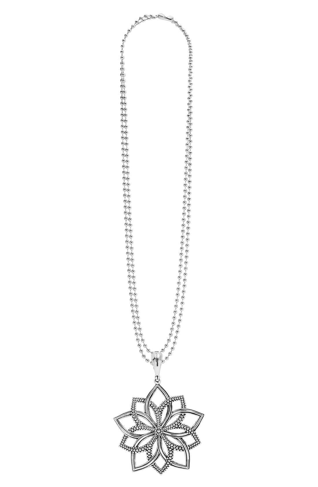 Alternate Image 1 Selected - LAGOS 'Rare Wonders - Flower' Long Talisman Necklace