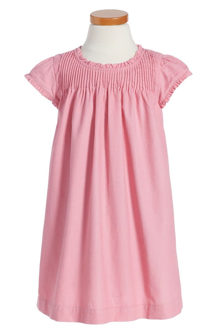 Mini boden pintuck ruffle dress toddler girls little for Shop mini boden