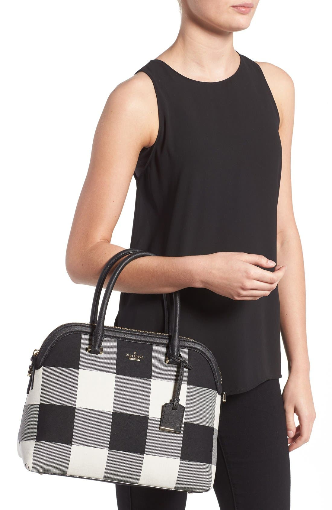 Alternate Image 2  - kate spade new york 'cameron street plaid - margot' tote
