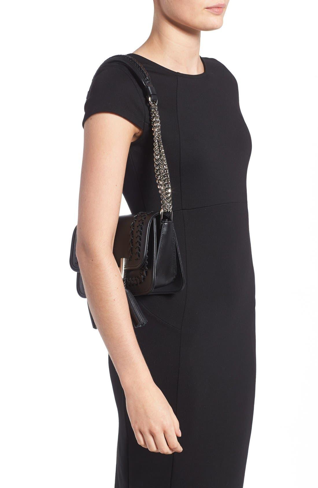 Alternate Image 3  - Tod's 'Mini Double T' Leather Shoulder Bag