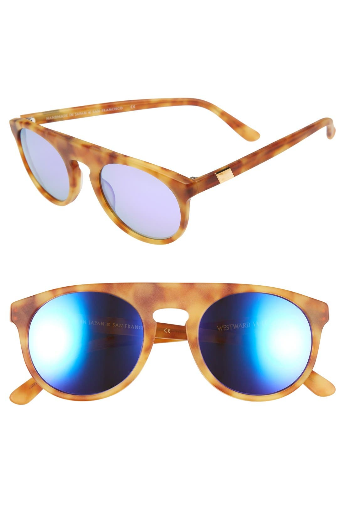 Westward Leaning 'Atlas' 50mm Sunglasses