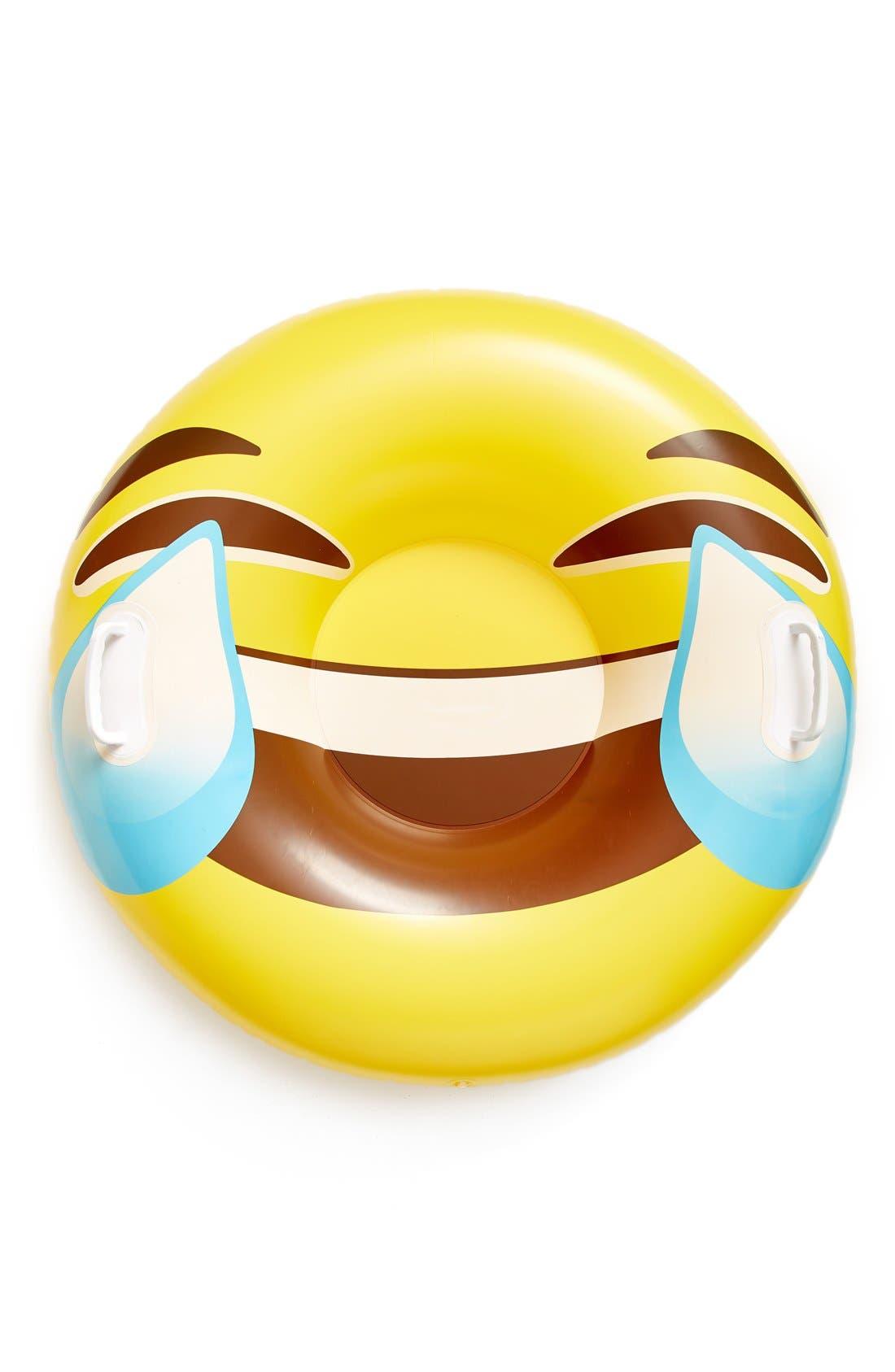 Main Image - BigMouth Inc. Giant Tears of Joy Emoji Snow Tube