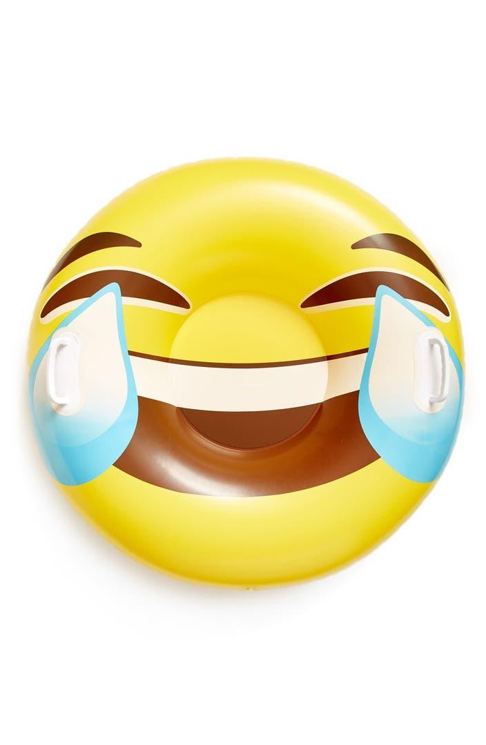 Bigmouth Inc Giant Tears Of Joy Emoji Snow Tube Nordstrom