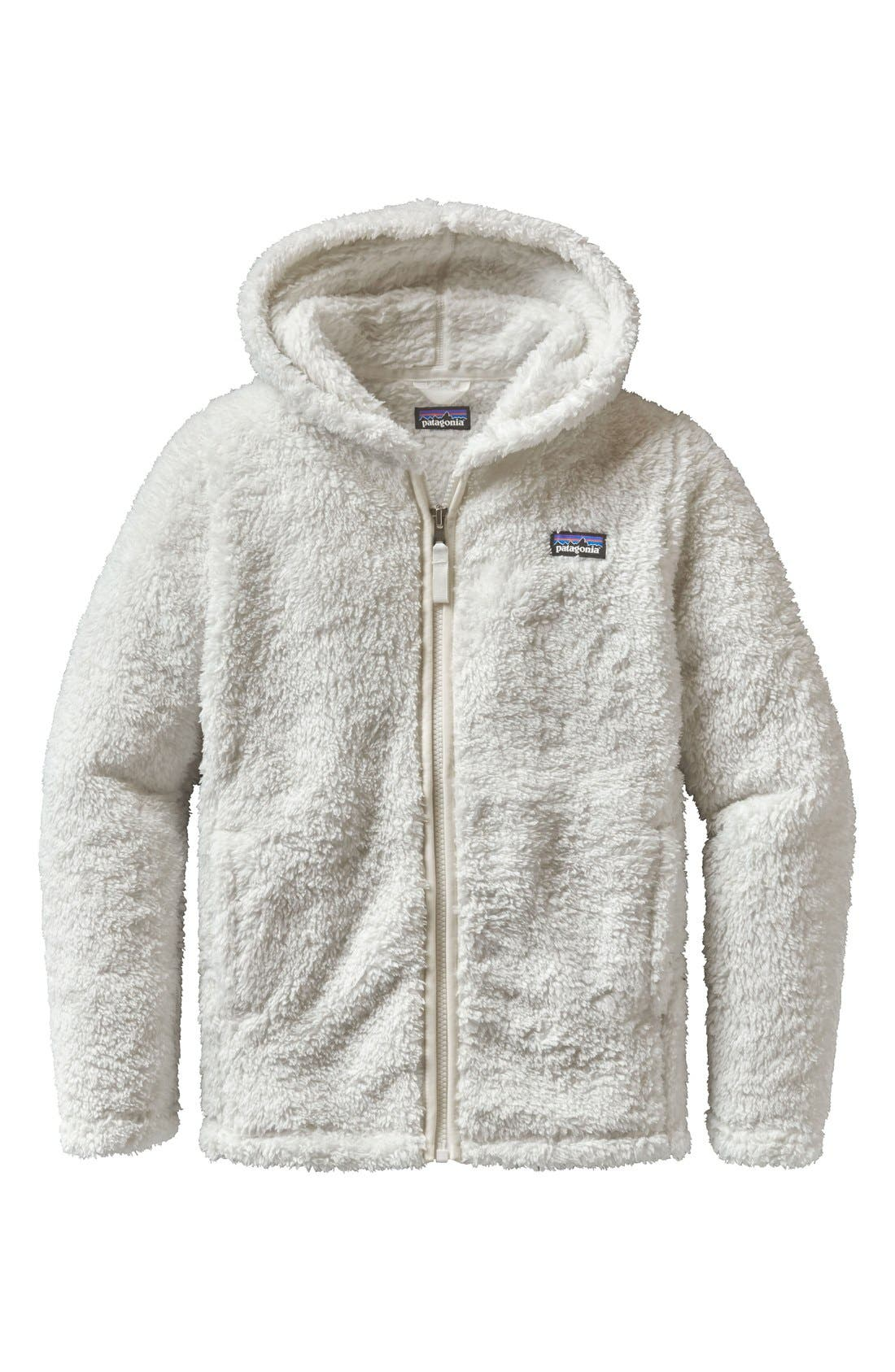 Patagonia Los Gatos Fuzzy Fleece Hoodie (Little Girls & Big Girls)