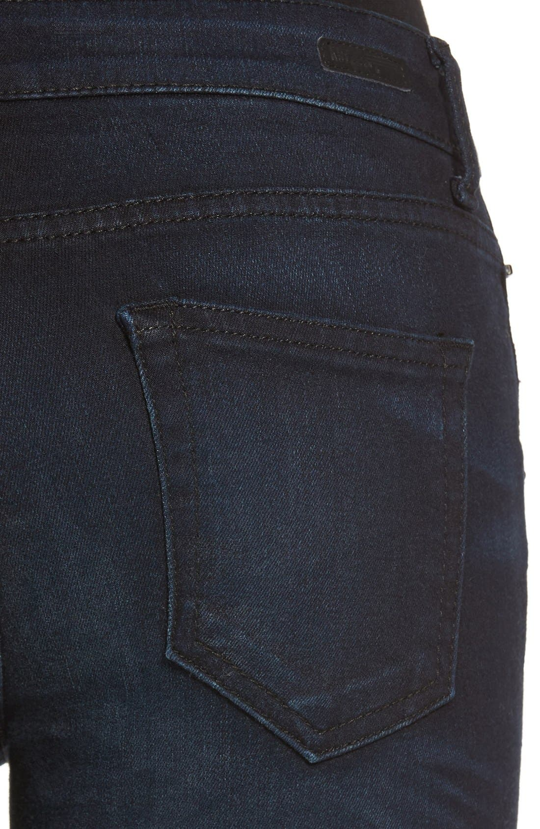 Alternate Image 4  - KUT from the Kloth Stretch Crop Skinny Jeans (Refresh)