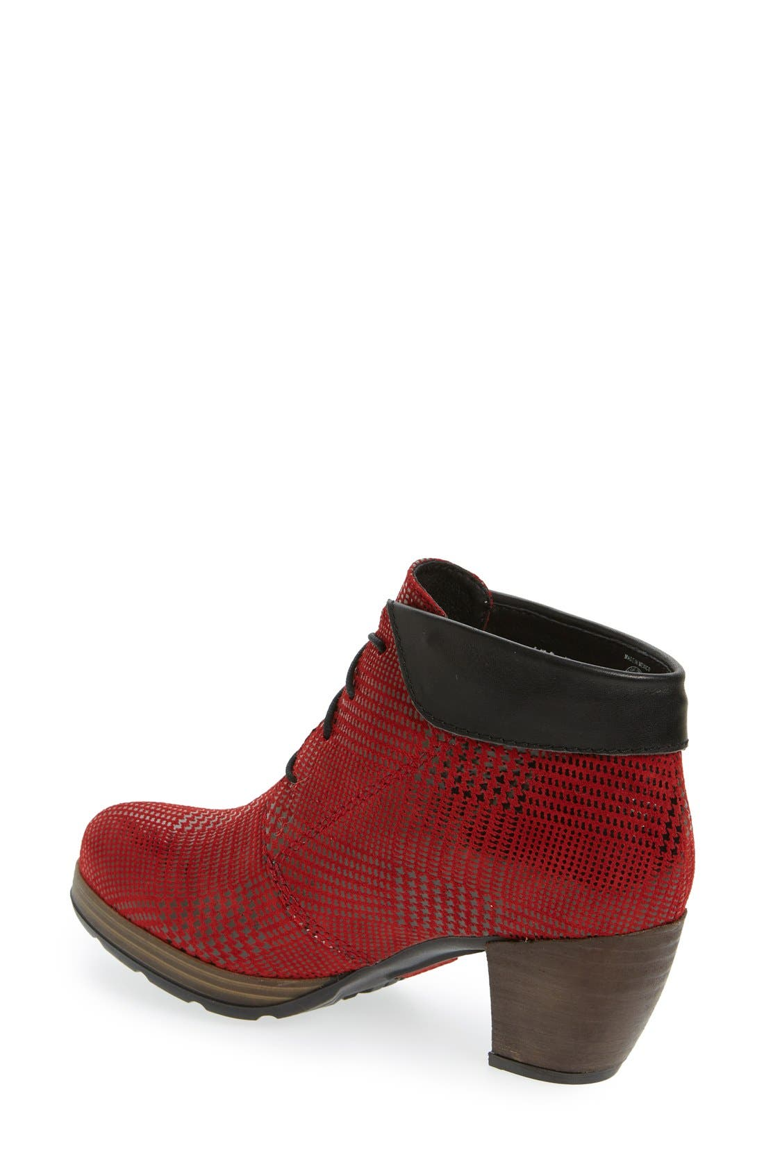 Alternate Image 2  - Wolky 'Jacquerie' Lace-Up Bootie (Women)