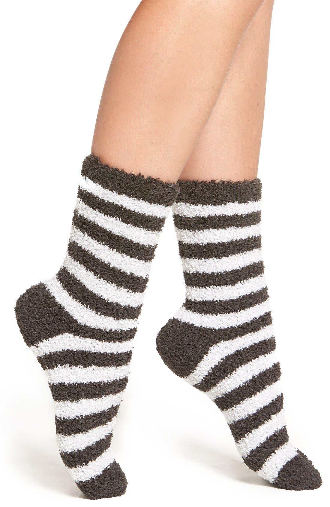 Main Image - Nordstrom 'Butter' Crew Socks (3 for $18)