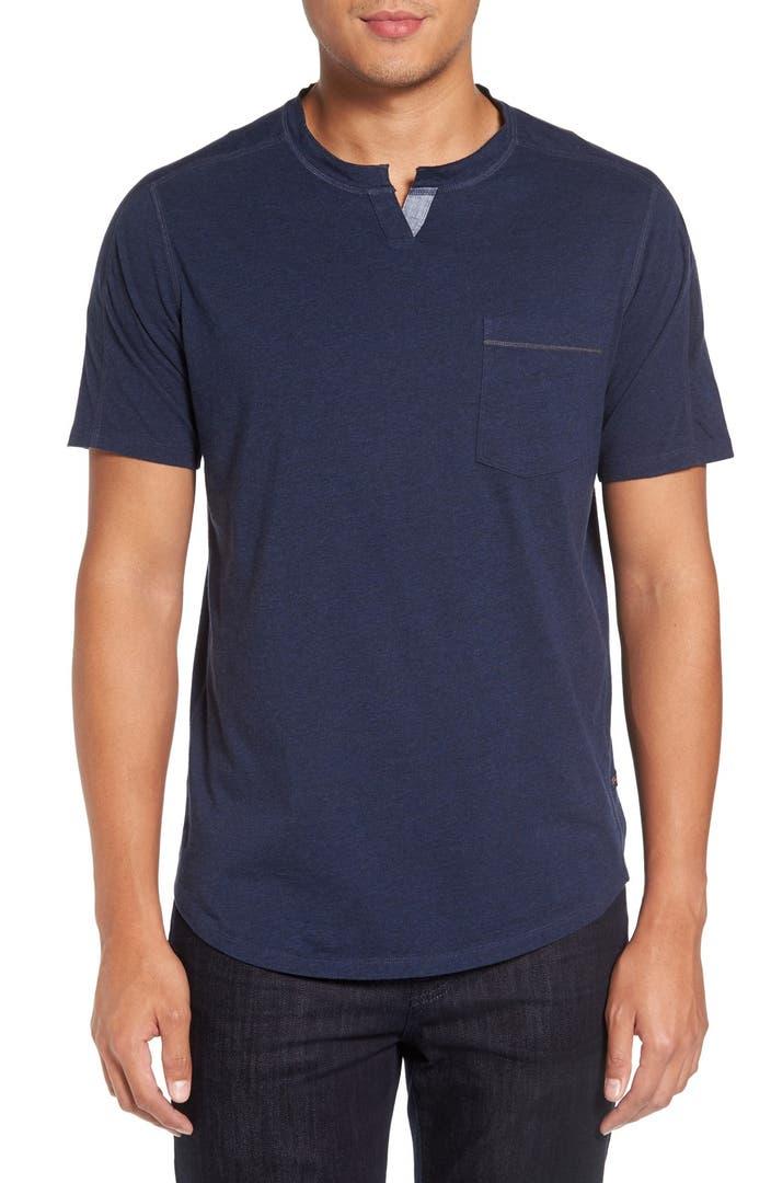 Good Man Brand Notch Crewneck T Shirt Nordstrom