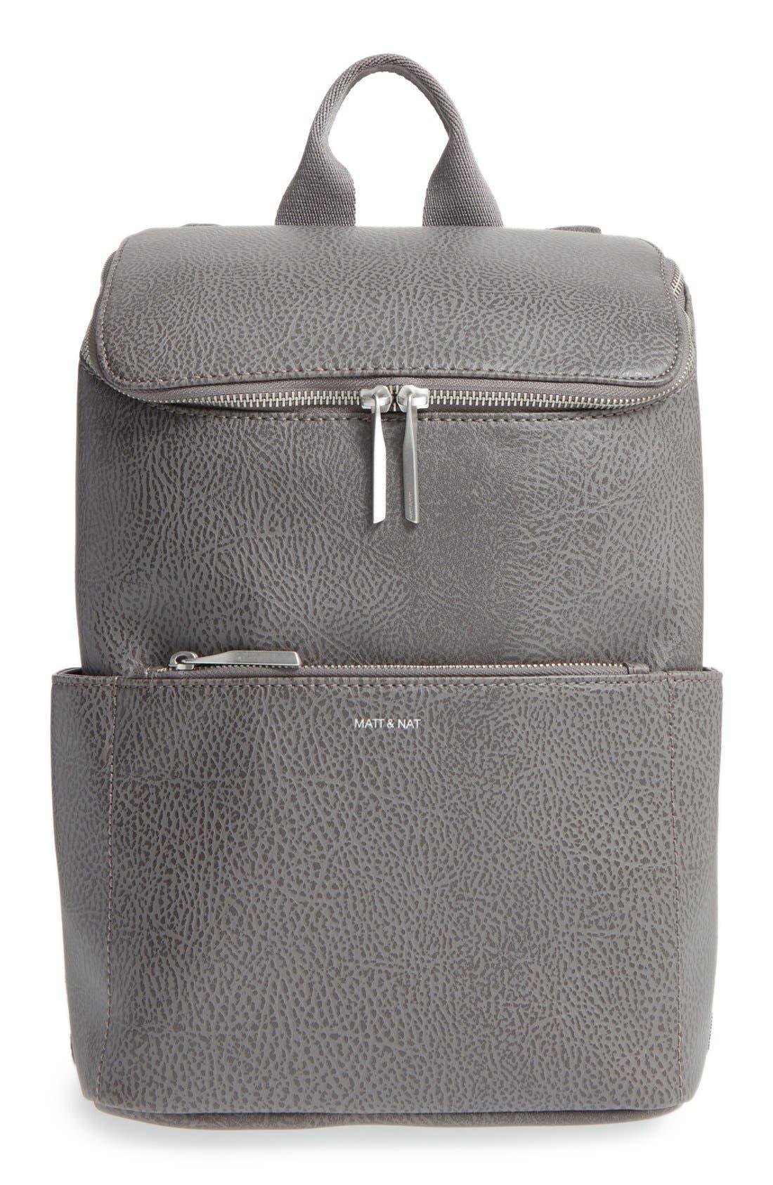Alternate Image 1 Selected - Matt & Nat 'Brave' Faux Leather Backpack