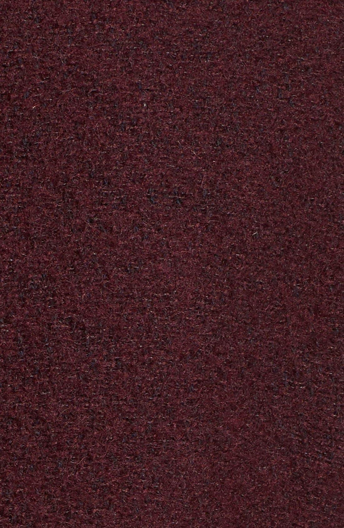 Alternate Image 5  - Calvin Klein Wool Blend Bouclé Walking Jacket (Regular & Petite)