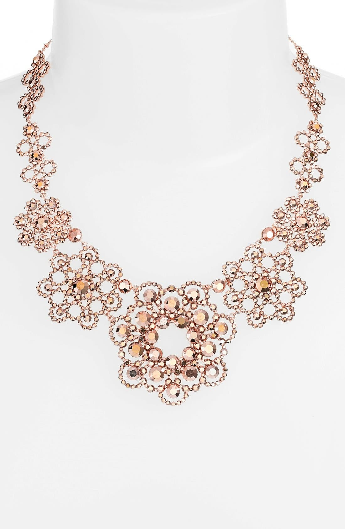 Alternate Image 2  - kate spade new york crystal lace collar necklace
