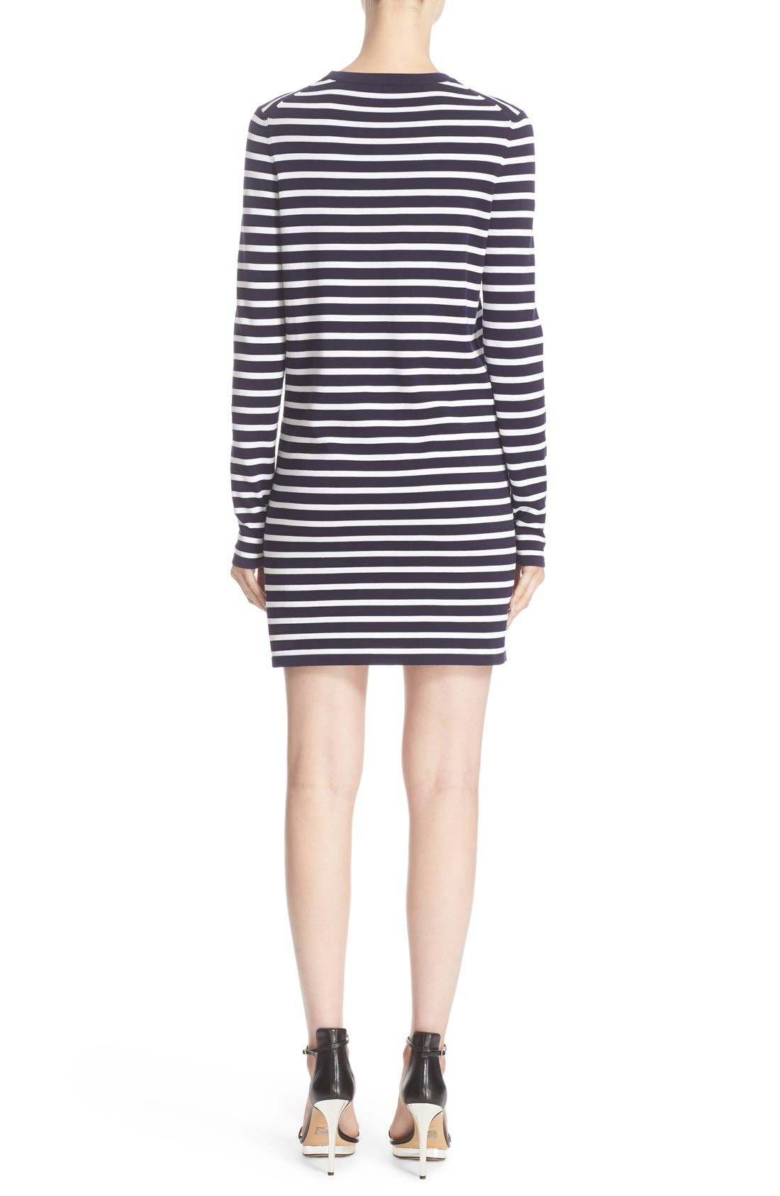 Alternate Image 2  - Michael Kors Stripe T-Shirt Dress