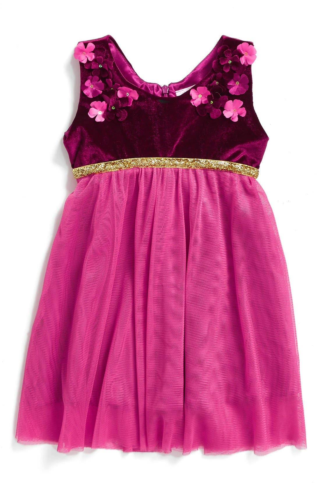 Popatu Sleeveless Tulle Dress (Baby Girls)